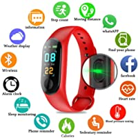 PAWACA Fitness Tracker, Color Screen Activity Tracker with Heart Rate/sleep Monitor, IP68 Waterproof Pedometer Watch with Calorie Counter for Kids Women and Men, Android IOS