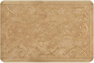 product image for WellnessMats Estates Collection Essential Series Aztec Gold Bella 3 x 2 Foot Anti-Fatigue Mat
