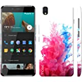 Noise OnePlus X Case/Back Cover + Free Tempered Glass, Noise Designer Premium PolyCarbonate Case Back Cover for OnePlus X [Slim fit, scratch & impact resistant MATTE finish] + Free Premium Tempered Glass (HD) - Screenguard (Color Bomb)