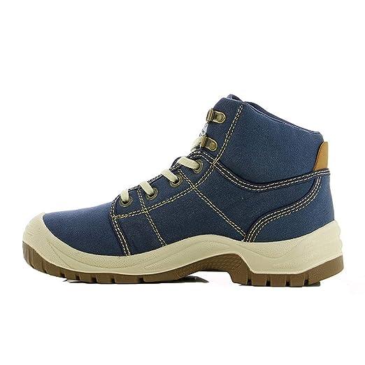 Willsky Zapatos De Seguridad para Hombres, Puntera De Acero ...