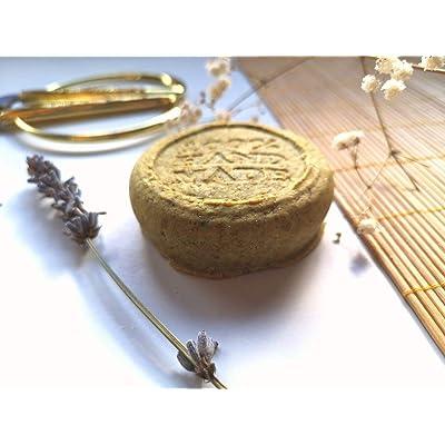 Champú sólido para uso frecuente artesanal y ecologico - 100% natural y vegano