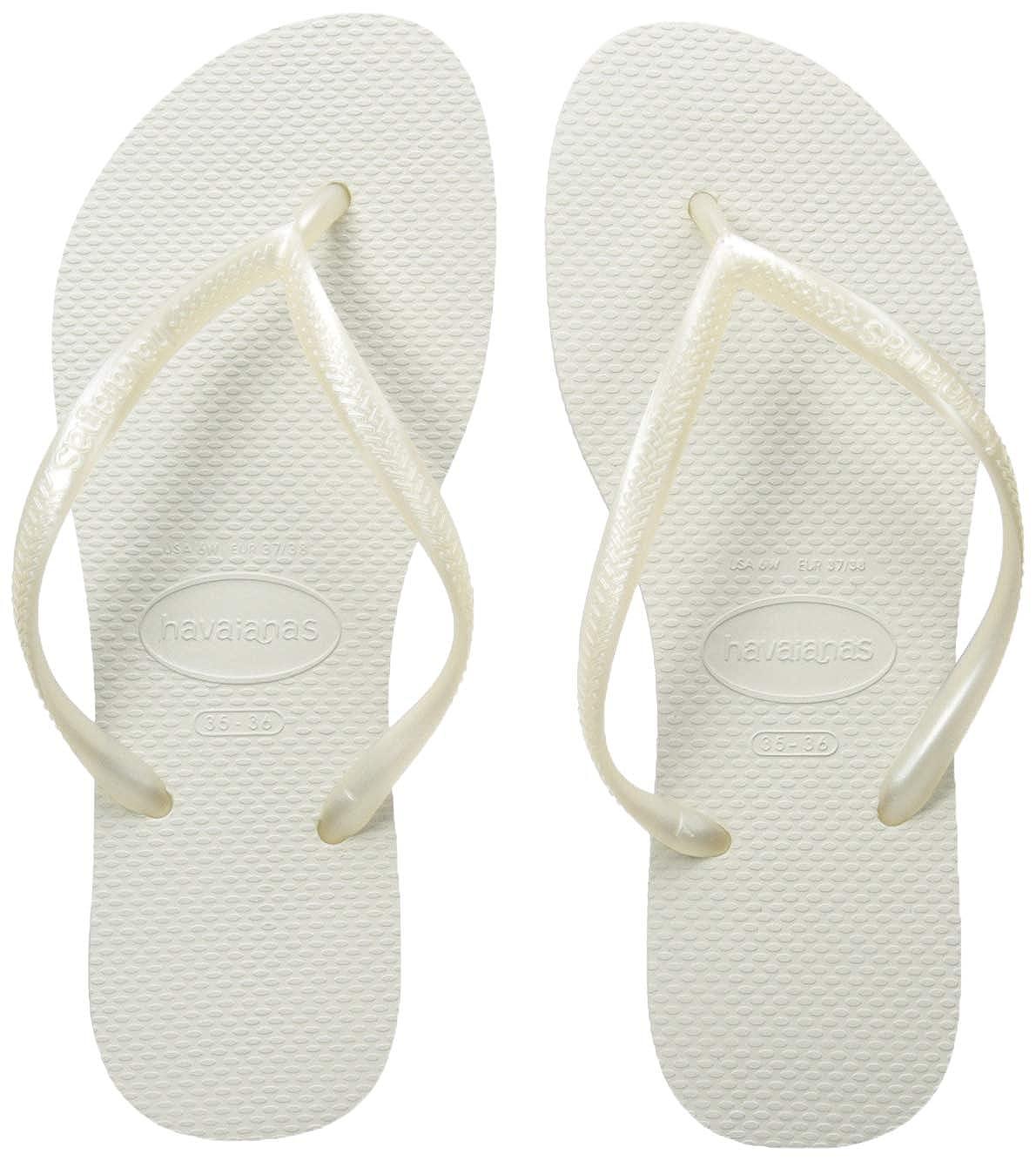 01a0efc1a7f2 Havaianas Women s Slim Flip Flops  Amazon.co.uk  Shoes   Bags