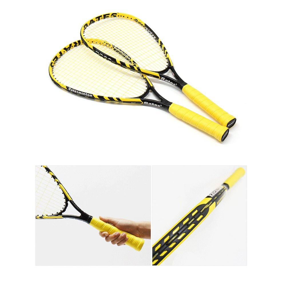 DNDmall Ratesminton Squash Starter Set ( Sports Outdoor RACQUETBALL TENNIS SQUASH BADMINTON This Equipment allows you to Exercise alone or with your Friend Sports Training Equipment) by DNDmall (Image #8)