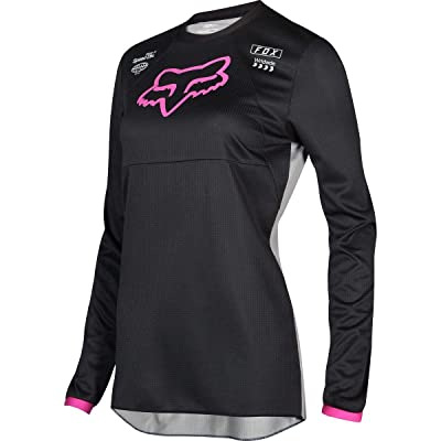 2020 Fox Racing Kids Girls 180 Mata Jersey-Black/Pink-KM: Automotive
