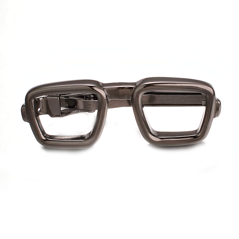 Yoursfs Glasses Design Tie Clip for Boys School Season Skinny Tie Clip UK/_B077M7R1NC