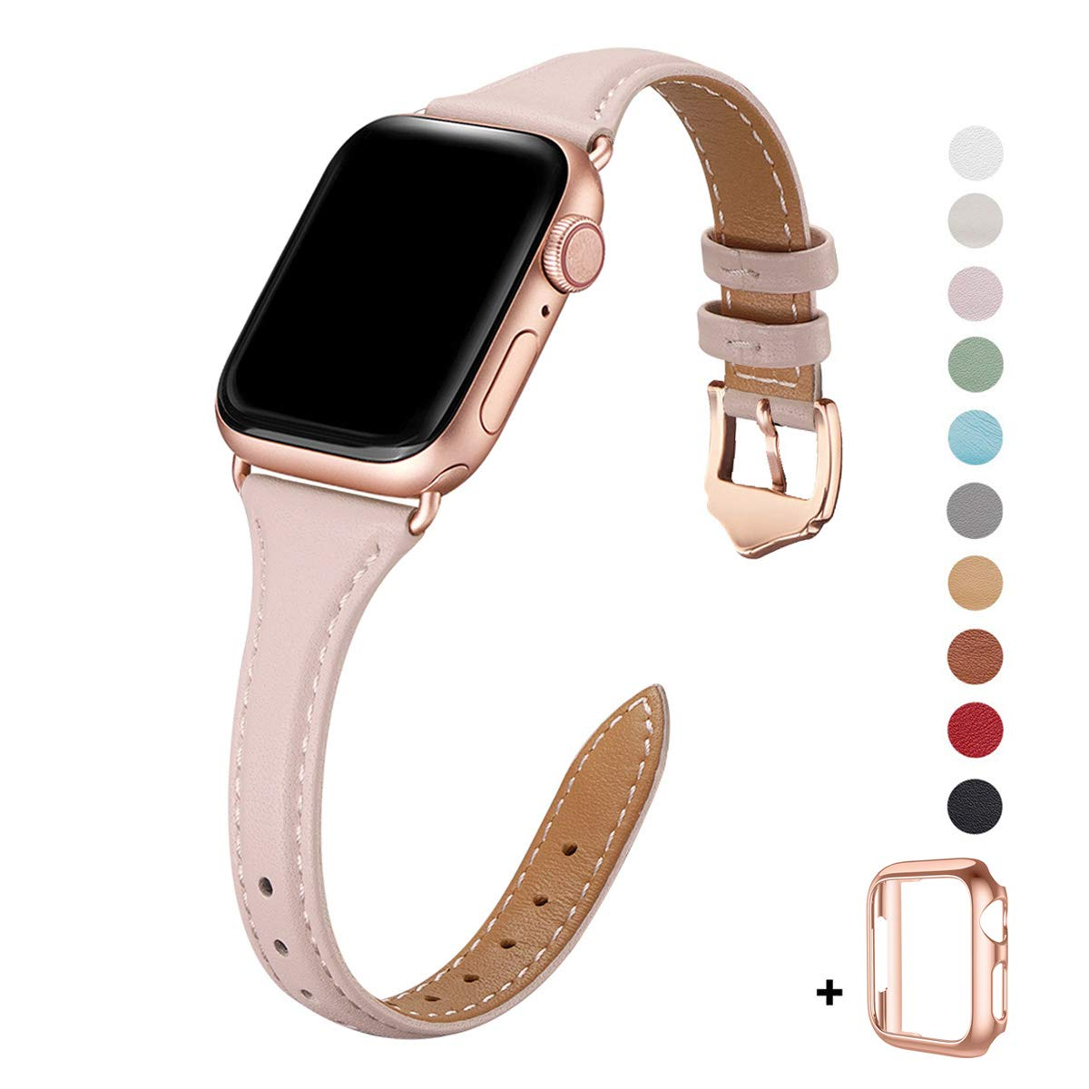 Malla Cuero para Apple Watch (42/44mm) WFEAGL [7W88DX28]