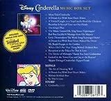 Disney Cinderella Music Box Set 3 Disc LIMITED EDITION SET 2 CD / 1 DVD (Tangled Ever After Short)