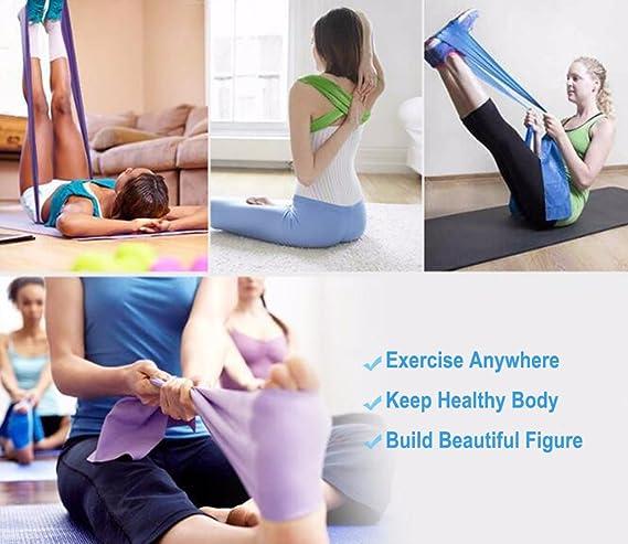 Latex Natural Elástico Bandas de Ejercicios, DD Yoga Terapia ...