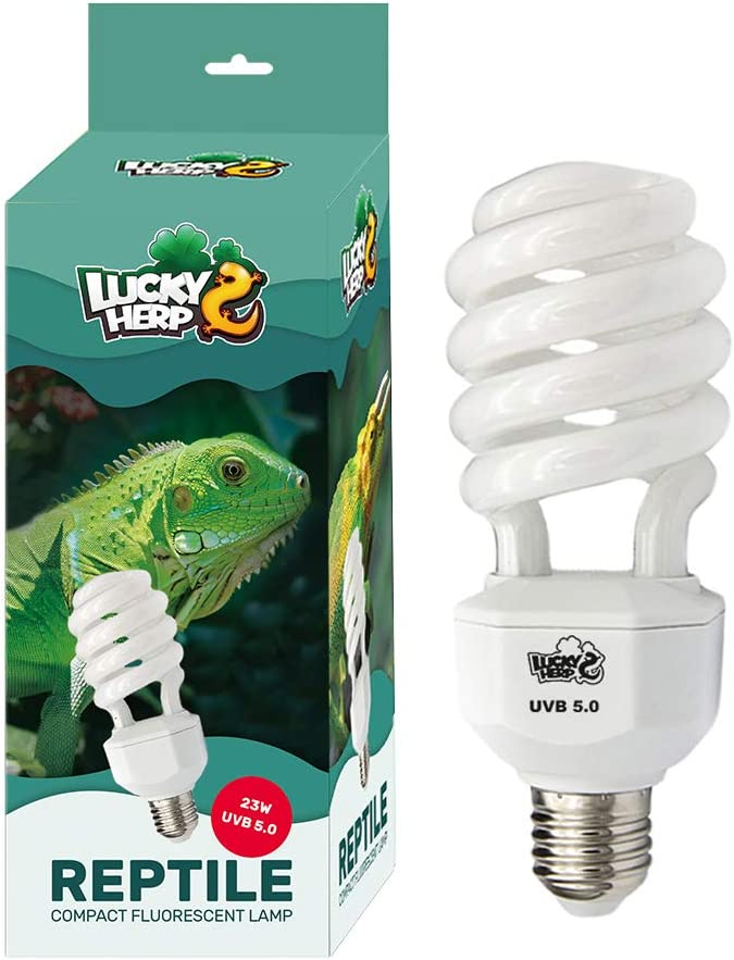 Lucky Herp 23W UVB 5.0 Reptile Compact Fluorescent Lamp