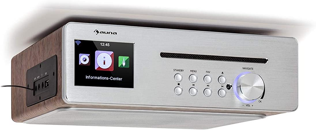 Auna Silverstar Chef Küchenradio Unterbauradio 10w Elektronik