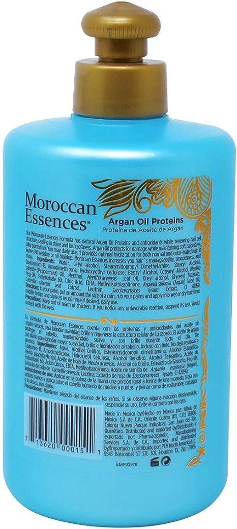 Moroccan Essences Crema Reparadora y Proteger con Aceite de Argán Proteínas y Antioxidantes 250 ml.