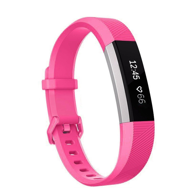 SnowCinda Bracelet pour Fitbit Alta et Fitbit Alta HR,Bracelet Reglable de Remplacment en Silicone Fitbit Band avec Boucle Metal en Acier Inoxydable product image