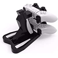 TERSELY Dual USB Charger Stand for Sony PS5 Controllers, LED Indicator Controller Charger Fast Charging Docking Station…