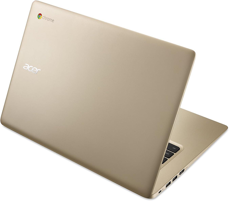 "2018 Newest Acer Premium Business Flagship Chromebook PC 14"" FHD 1920x1080 Display Intel Celeron Processor 4GB RAM 32GB eMMC Hard Drive 802.11AC HDMI Webcam Bluetooth 9 Hour Battery Chrome OS-Gold"