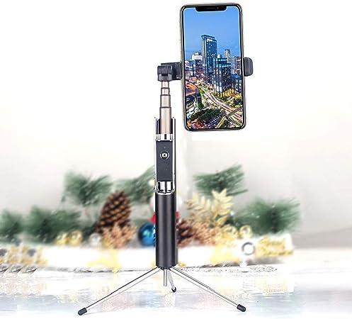 Zhicaikeji Selfie Stick Multiángulo Mini trípode del Soporte del sostenedor Selfie Vara for teléfonos Inteligentes Selfie palillo de 2 en 1 Bluetooth Flexible Selfie Stick Extensible: Amazon.es: Hogar