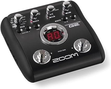 G2 - Zoom: Multiefectos guitarra G2 -: Amazon.es: Instrumentos ...
