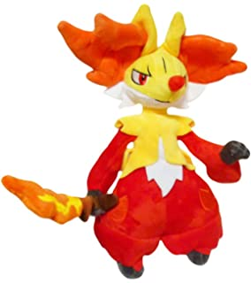 Pokemon: 10-inch Delphox Psychic/Fire Plush Doll