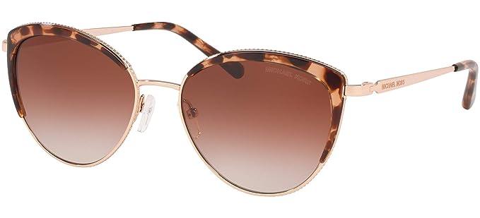 Michael Kors 0MK1046 Gafas de sol, Rose Gold, 56 para Mujer ...