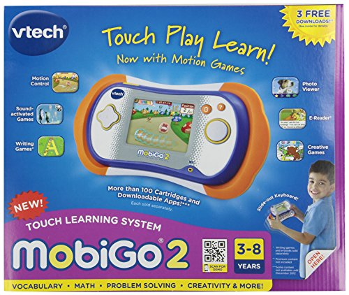 VTech MobiGo 2 Touch Learning System - Orange (System Purchase)