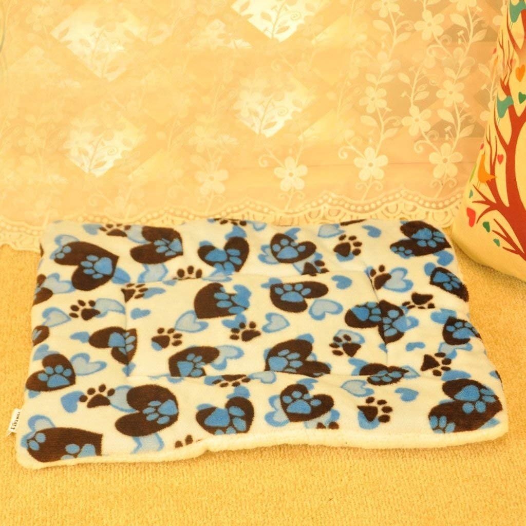 ANDRE HOME Cute Design Dog Cushion Cat Blanket Pad for Animals (colore: Blue) Pet Bed Blanket