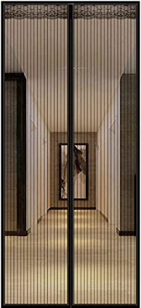 COEOC Cortina Mosquitera Magnetica, ProteccióN De Insectos Cortina Nuevo DiseñO, para Puertas Correderas/Balcones/Terraza - G 95x200cm(37x79inch): Amazon.es: Hogar