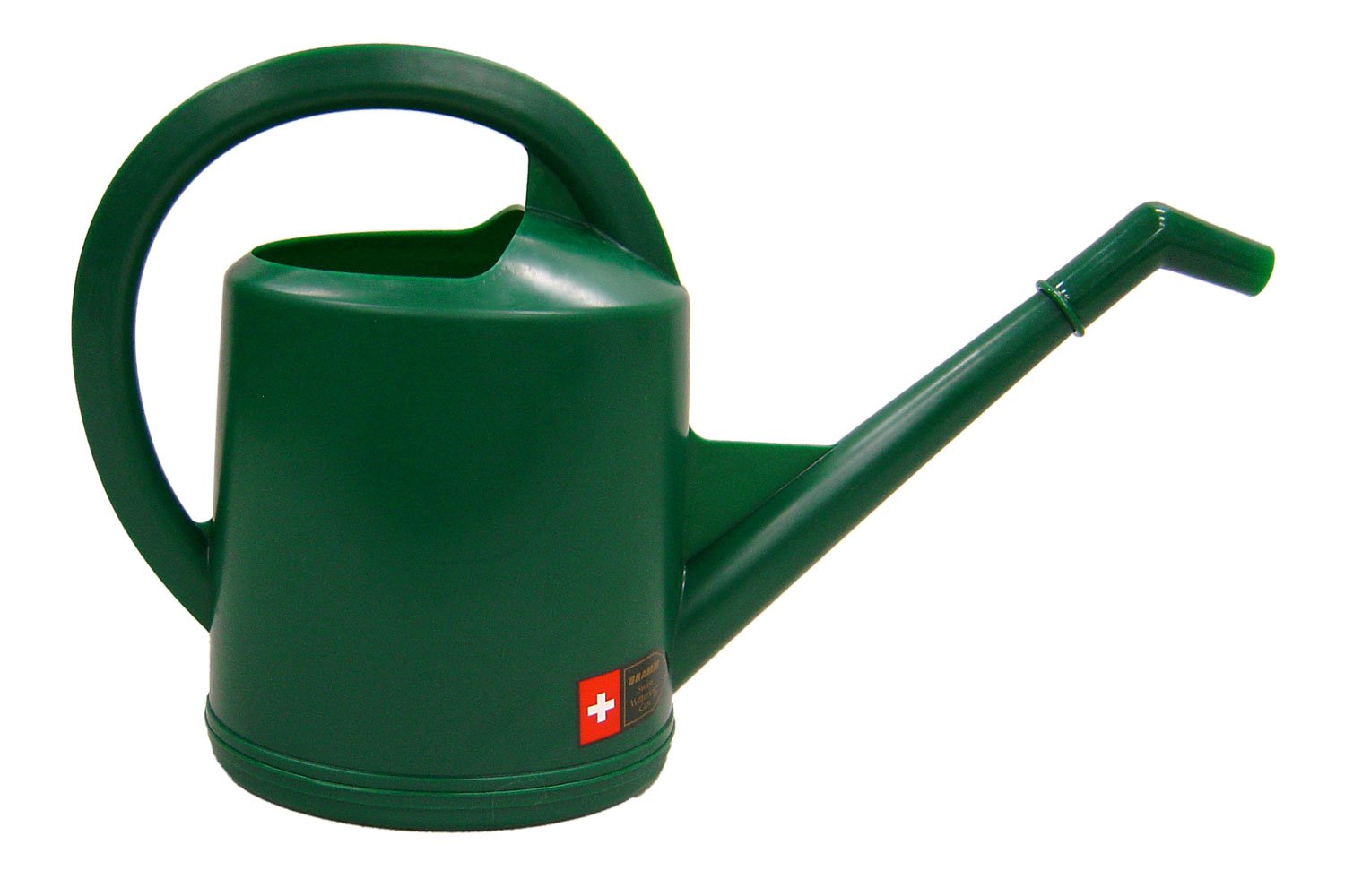 Dramm 12474 10-Liter Molded Plastic Swiss Watering Can with Injection, Hunter Green by Dramm