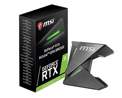 MSI NVLink GPU Bridge - Puentes para Tarjetas gráficas (Pasivo ...