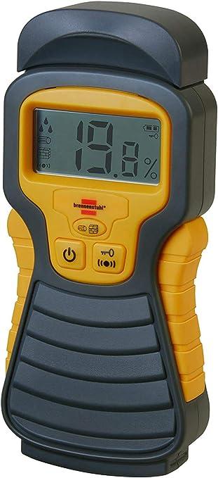 Brennenstuhl Portable Humidité Détecteur MD Damp Meter Rising Testeur Affichage LCD