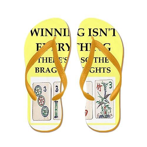 9a0c7a36812a4 Amazon.com   CafePress - Mahjong - Flip Flops, Funny Thong Sandals ...