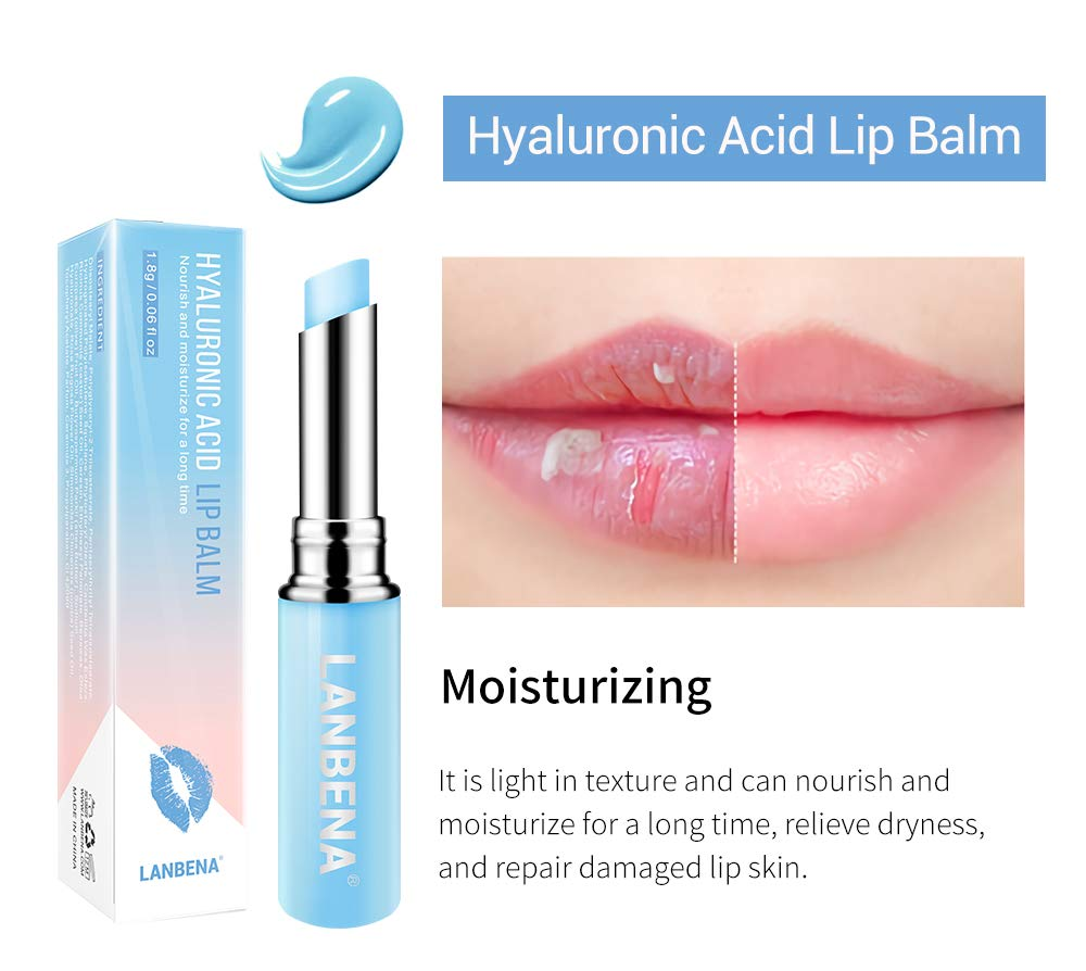 Rose Chameleon Lip Balm Rose Hyaluronic Acid Moisturizing Nourishing Lip Plumper Lip Lines Natural Extract Makeup Lipstick