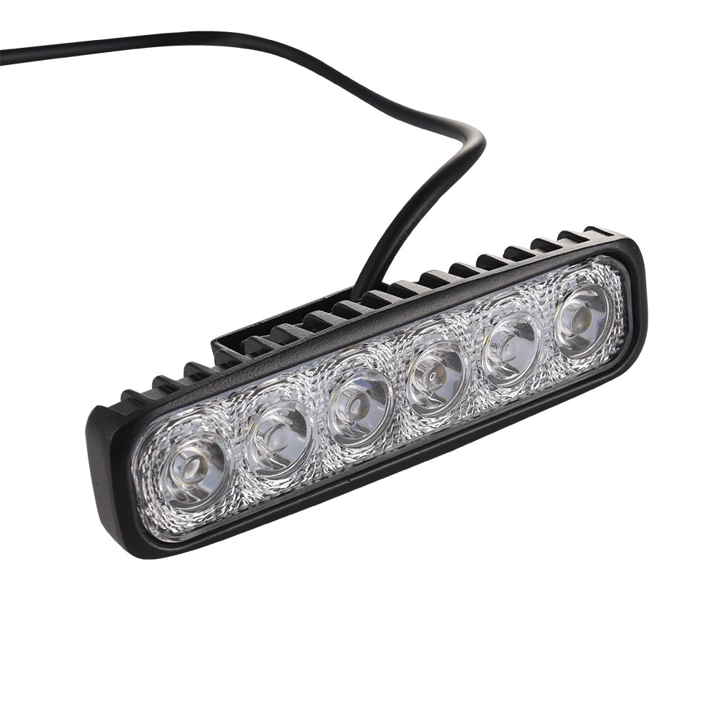 1800LM IP67,12V 24V Flutlicht Kaltwei/ß Per Set LED Offroad Flutlicht 18W LED Offroad Flutlicht Spotlight Reflektor Scheinwerfer Arbeitsscheinwerfer 20 St/ück Energieklasse A+
