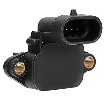 Sensor de presión de sobrealimentación qkparts Turbocompresor mapa 3971106 para 03 - 07 Dodge Ram Cummins 5.9l: Amazon.es: Coche y moto