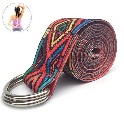 CWDXD Yoga Strap Bandas de Resistencia Banda elástica de ...