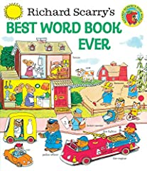 Richard Scarry's classic word book that's perfect for every child! Welcome toRichard Scarry's Best Word Book Ever! Featuring everything from an airport to a grocery store, this fun-filled book has hundreds of objects clearly labeled s...