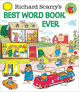 Image result for richard scarry word book