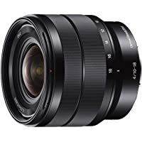 Sony APS-C E-mount SEL1018 Lens,Black