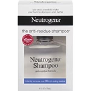 Neutrogena Anti-Residue Shampoo, Gentle Non-Irritating Clarifying Shampoo to Remove Hair Build
