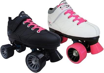 New Pacer GTX 500 Black and Pink Entry Level Beginner Skates