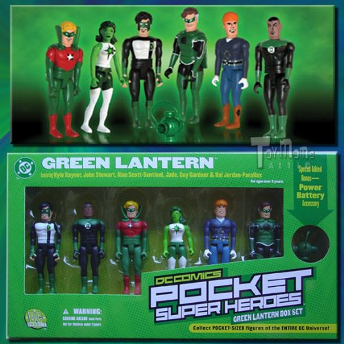 Green Lantern Box Set of 3