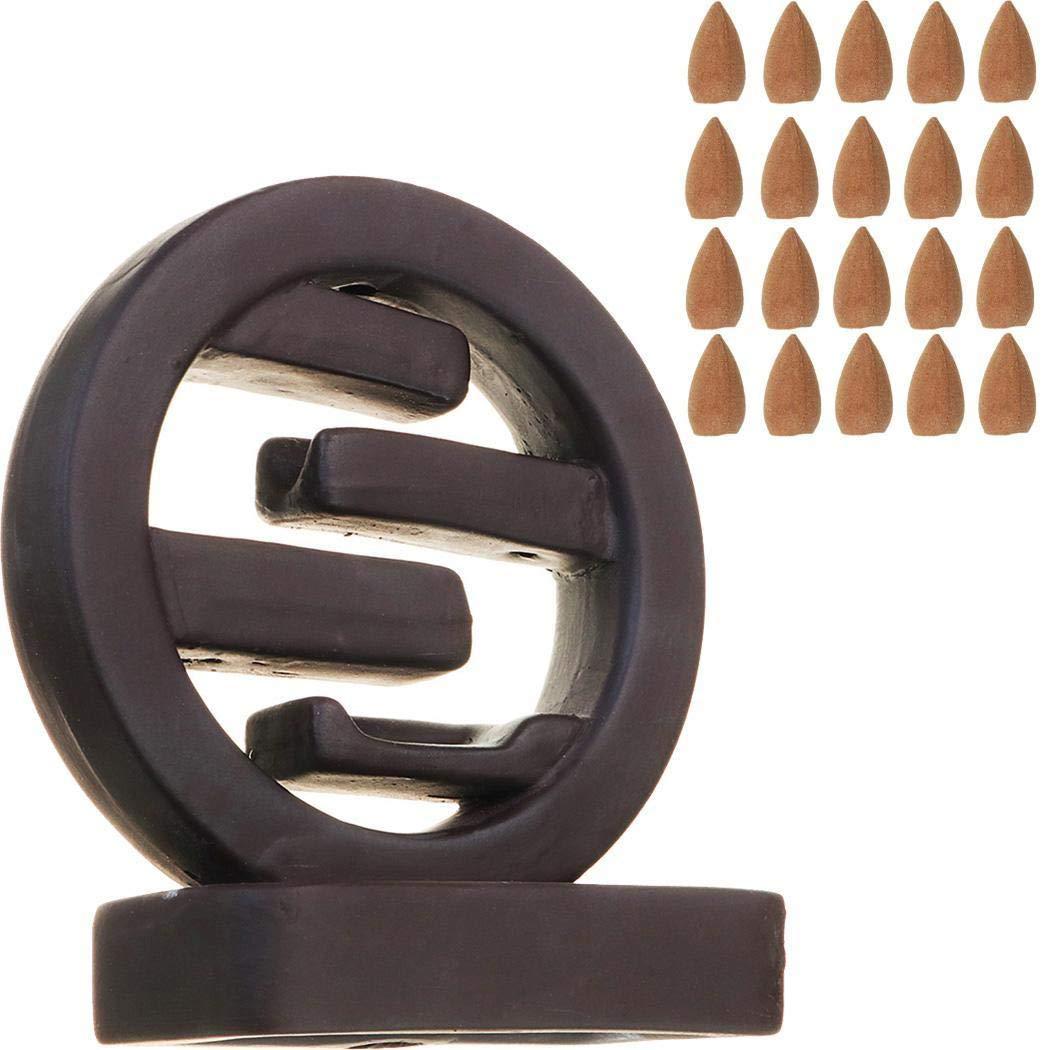 lantusi Backflow Ceramic Incense Burner Holder Home Office Incense Holders by lantusi (Image #1)