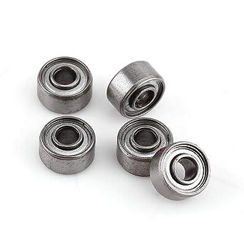 10pcs 693ZZ Miniature Ball Bearings 3*8*4mm Small Double Shielded Bearing Rh