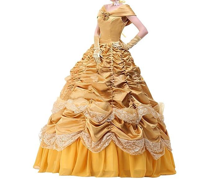Womens Princess Fancy Dresses Halloween Cosplay Costume: Amazon.co ...