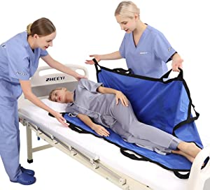 ZHEEYI Bed Positioning Pad with Reinforced Handles 55