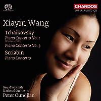 Tchaikovsky/Scriabin: Piano Concerto [Xiayin Wang; Royal Scottish National Orchestra; Peter Oundjian] [Chandos: CHSA 5216]