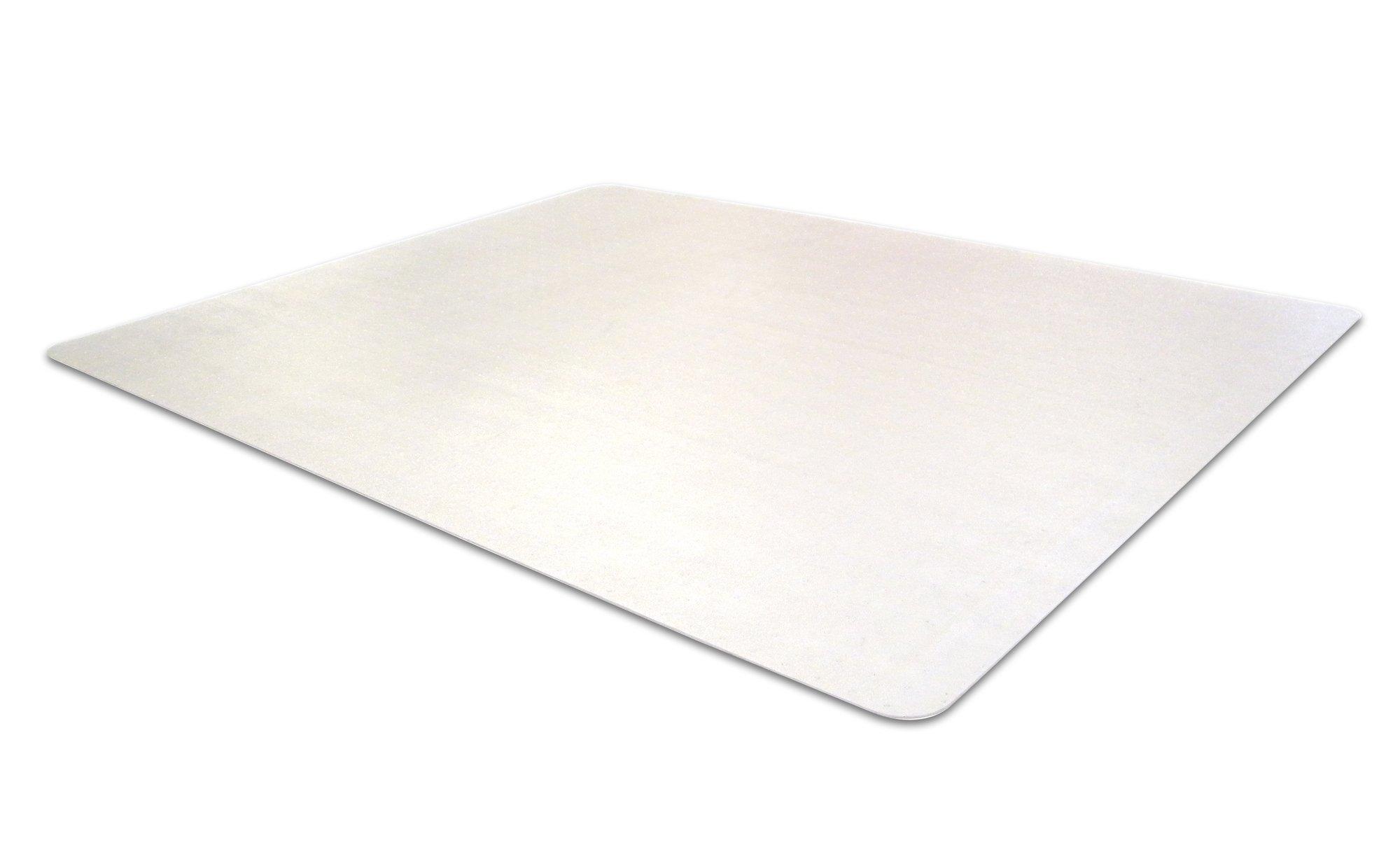 Cleartex Advantagemat Chair Mat for Carpets 1/4'' or Less, Clear PVC, Rectangular, 48'' x 79'' (FR1120025EV)