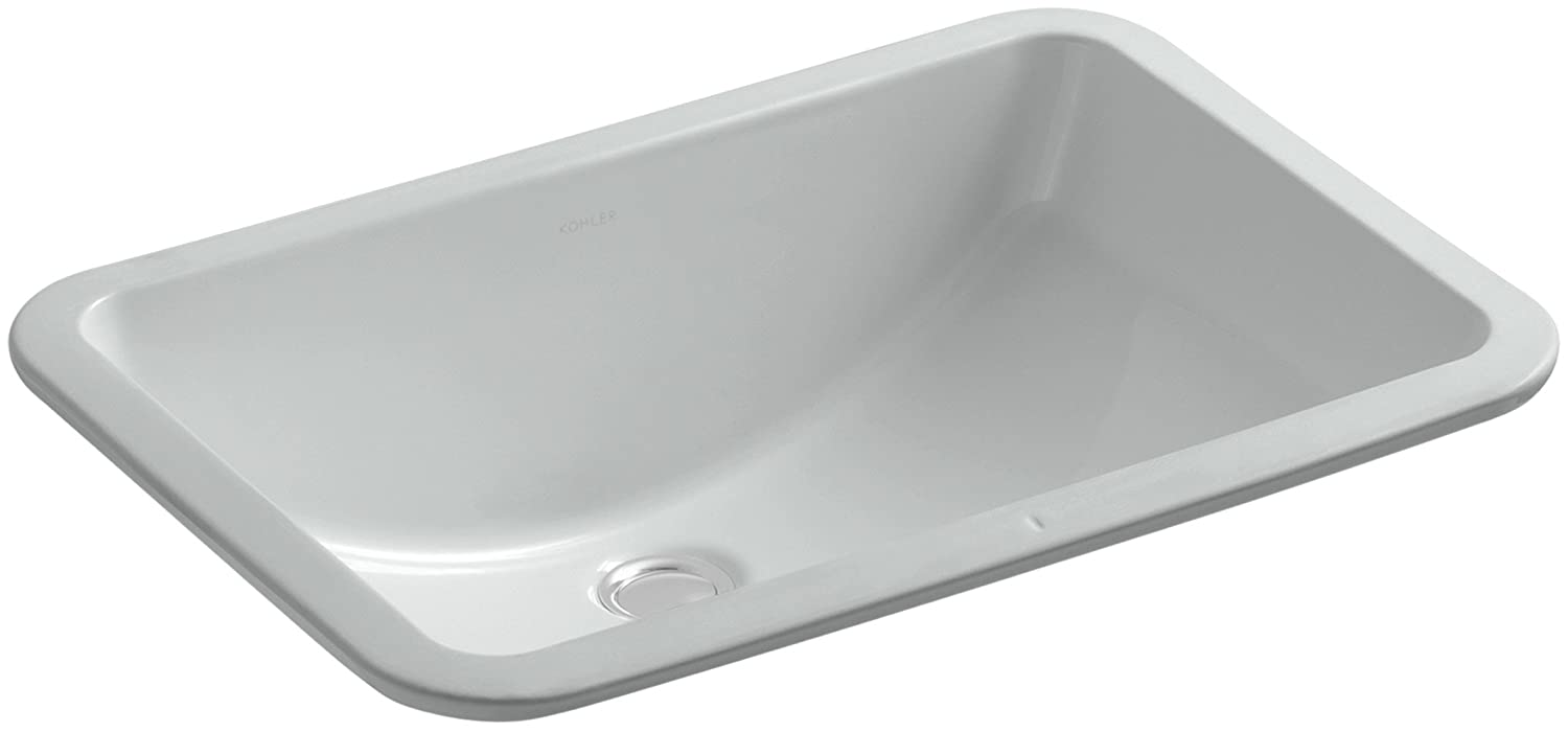 KOHLER K 2214 95 Ladena Undercounter Bathroom Sink, Ice Grey   Vessel Sinks    Amazon.com