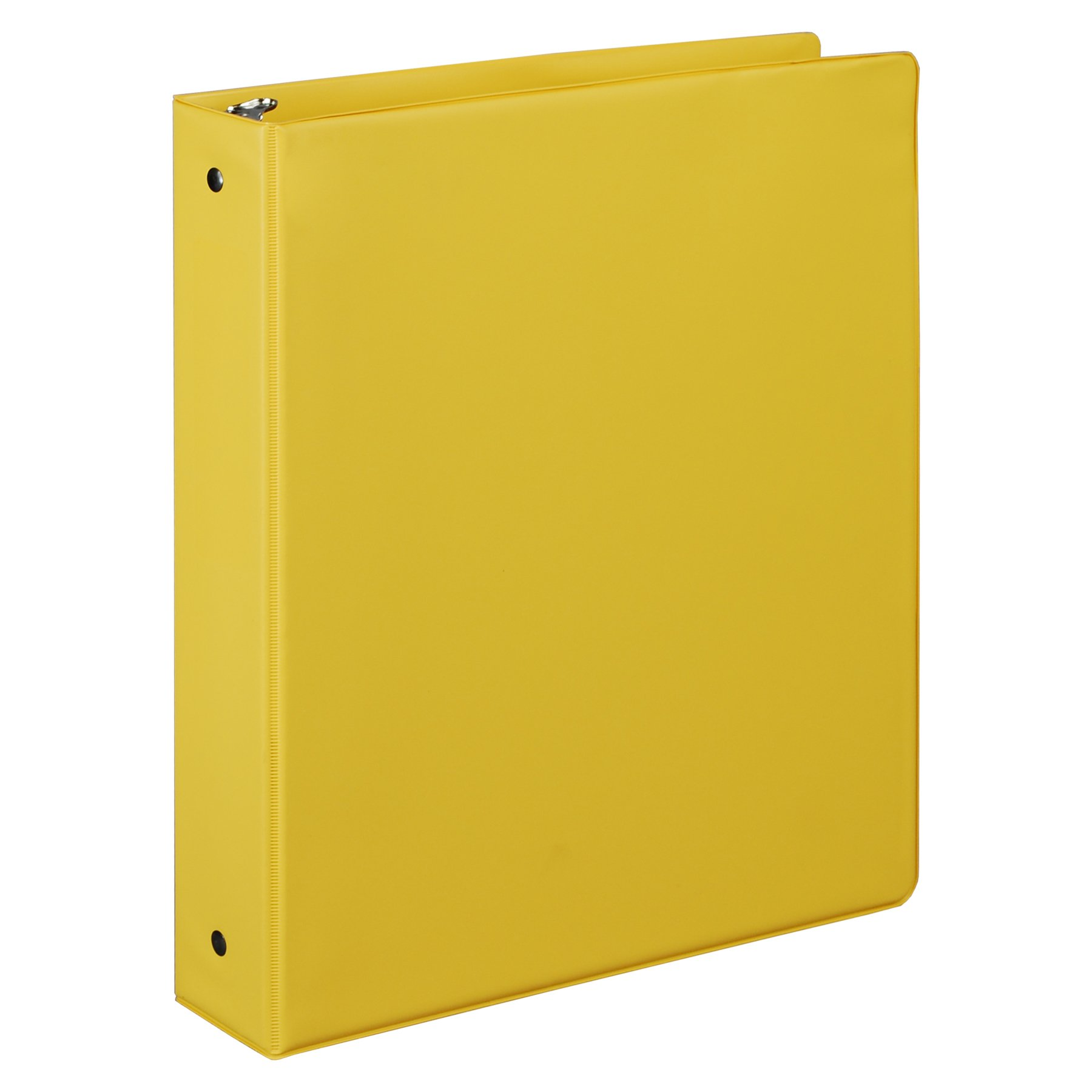 Samsill 1.5 Inch Value Document Storage 3 Ring Binder, Round Ring, 11 x 8.5 Inches, Yellow (11506)