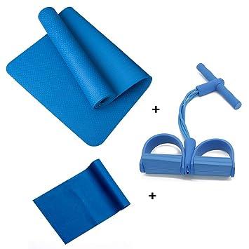 Amazon.com : SWDZM Yoga Set;Piece 1 Sports Yoga Mat, 1 Yoga ...