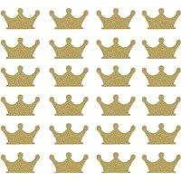 Toyvian 300pcs Crown Confetti Glitter Paper Confetti Birthday Table Confetti Decorative Confetti Party Confetti for…