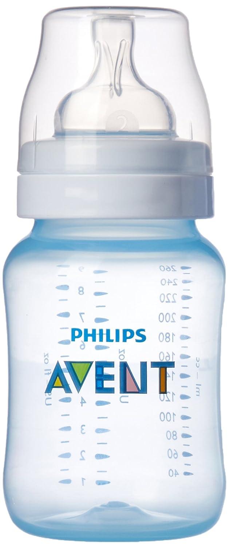 Philips Avent SCF684/27 - Biberón de polipropileno sin Bisfenol A (260 ml, 2 unidades), color rosa
